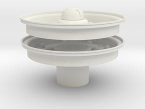 1/6 CMP Cap Set in White Natural Versatile Plastic