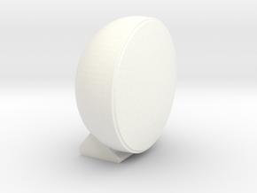 CIBIÉ RALLYE LIGHT 1:10 Scale in White Processed Versatile Plastic