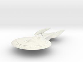 Challenger Class  BattleShip in White Natural Versatile Plastic