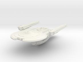 """Carter Class Patrol Cutter 2.4"""" in White Natural Versatile Plastic"""