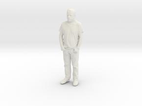 Printle C Homme 085 - 1/64 - wob in White Natural Versatile Plastic