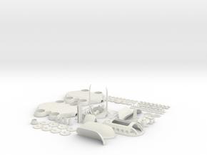 COLBRI-ALLPARTSfix in White Natural Versatile Plastic