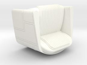 Aero style chair in White Processed Versatile Plastic