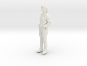 Printle C Femme 203 - 1/32 - wob in White Strong & Flexible