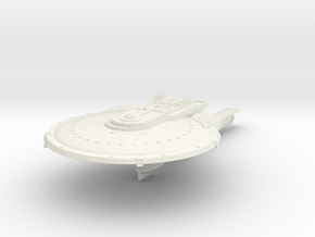 WindRunner Class Refit  Scout Destroyer in White Natural Versatile Plastic