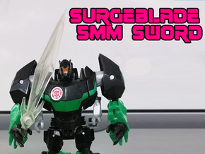 Surgeblade 5mm Sword in Smooth Fine Detail Plastic
