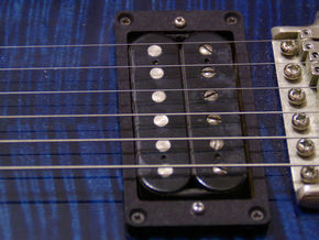 Pickup Mounting Ring for PRS - pair in Black Strong & Flexible