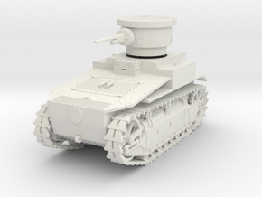 PV19A T1E2 Light Tank (28mm) in White Strong & Flexible