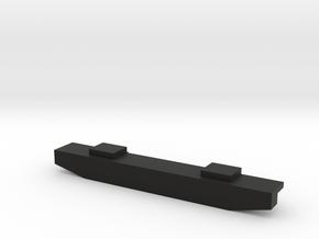 Pro-Line Ambush Front Bumper - Flat Standard in Black Natural Versatile Plastic