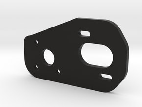 V2 3 Gear Laydown Motor Plate in Black Natural Versatile Plastic