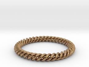 Bracelet FGH Large in Polished Brass
