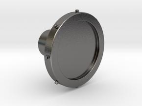 Shooter Rod Knob - Minion Eye V3 in Polished Nickel Steel
