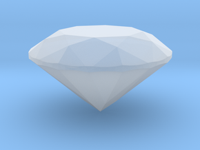 Diamond 8 Mm in Smooth Fine Detail Plastic