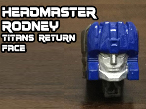 Rodney Faceplate (Titans Return) in Frosted Ultra Detail