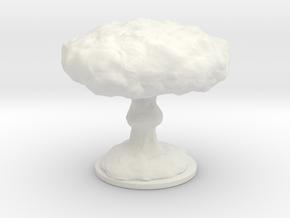 Mushroom Cloud Lamp in White Strong & Flexible: Medium
