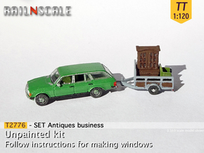 Antiques business (TT 1:120) in Smooth Fine Detail Plastic