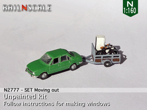 Moving out (N 1:160) in Smoothest Fine Detail Plastic