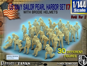 1-144 US Navy Pearl Harbor Set 17 in Smoothest Fine Detail Plastic