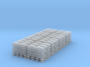 Sandbag Stack - Set of 8 - Zscale in Frosted Extreme Detail