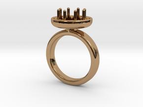 Ring Iris in Polished Brass: 5.5 / 50.25