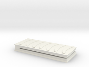 MoneyClip in White Natural Versatile Plastic