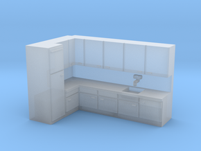N Scale Kitchen in Smooth Fine Detail Plastic