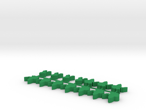 Custom Order 10-saracen 10-catapults in Green Processed Versatile Plastic