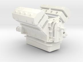 AJPE 1/12 Hemi Single Plug in White Strong & Flexible Polished