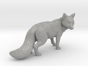 Fox statue in Aluminum
