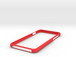 Iphone 7 , 6S and 6  Bumpr in Red Strong & Flexible Polished