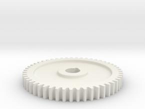 51T Sheldon Lathe Gear in White Natural Versatile Plastic