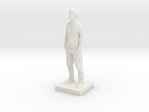 Printle C Homme 023 - 1/32 in White Natural Versatile Plastic