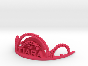 Emergency Tiara in Pink Processed Versatile Plastic