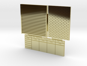Sealab Cabinets Plus for Y-Wing in 18k Gold
