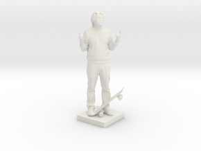 Printle C Homme 597 - 1/24 in White Strong & Flexible