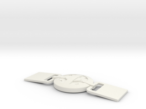 DeadPool - Belt Buckle - 3-21-17 in White Natural Versatile Plastic