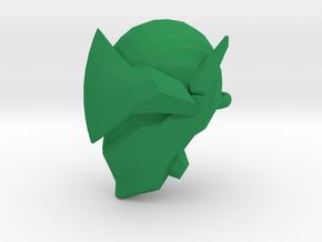 Genji keychain in Green Strong & Flexible Polished