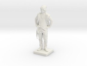 Printle C Homme 591 - 1/24 in White Natural Versatile Plastic