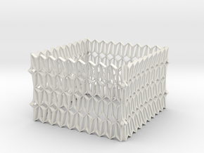 YOUNG Table Structure 555535 Bend in White Natural Versatile Plastic