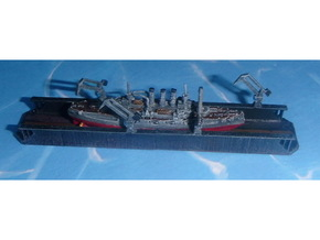 Floating Drydock modern Style 1 Section 1/1800 in Smooth Fine Detail Plastic