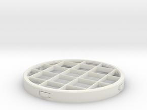 PVC Vent Screen Insert in White Strong & Flexible