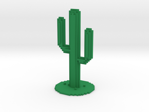 VOXEL CACTUS Chrome in Green Strong & Flexible Polished