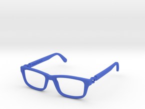 VirtualTryOn.fr Lunettes /  Glasses in Blue Processed Versatile Plastic