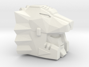 Kfir Heavy Intercepter Head (Multiple Sizes) in White Natural Versatile Plastic: Small
