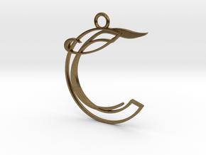 Corelia Pendant in Natural Bronze