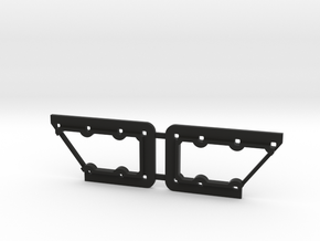 Rivarossi FM C-Liner Window Grille Frame in Black Strong & Flexible
