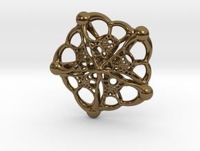 The Starfish in Polished Bronze