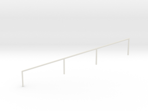 MOF Stair Railing#5 in White Natural Versatile Plastic