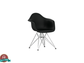 Miniature Eames DAR - Charles & Ray Eames in White Strong & Flexible