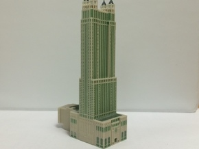 900 North Michigan (1:2400 scale) with color in Full Color Sandstone